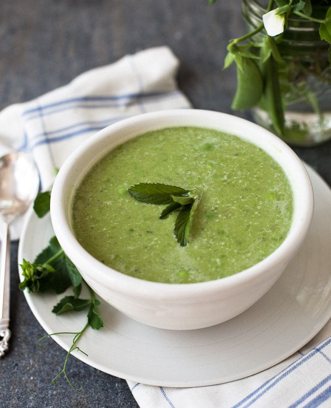 SPRING PEA SOUP | good things to eat - soup! | Pinterest