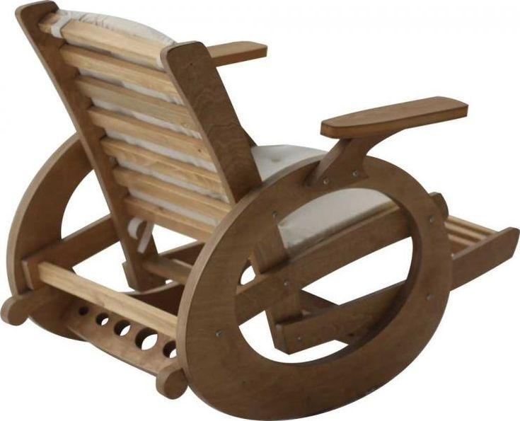 Чертежи кресла качалка из лозы