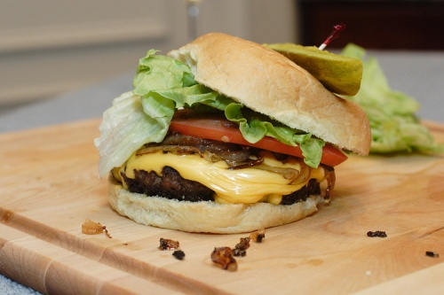 Burgers…the old-fashioned way
