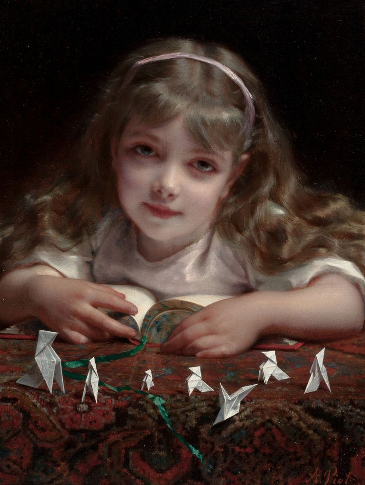 Etienne Adolphe Piot (1850 - 1910) - Origami dreams