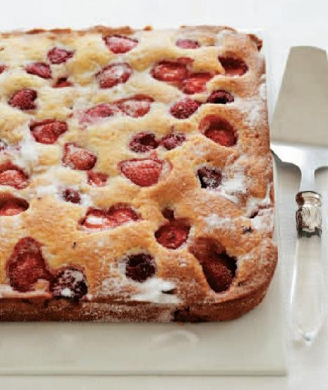 Summer Fruit and Vanilla Cake' serves 16 people and is super versatile ...