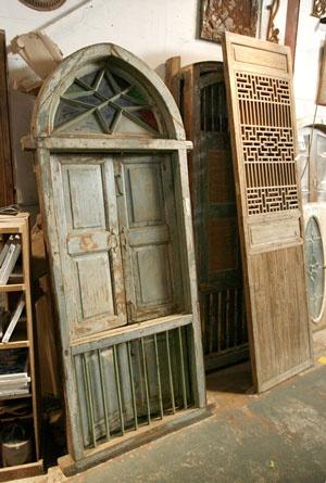 Salvage doors
