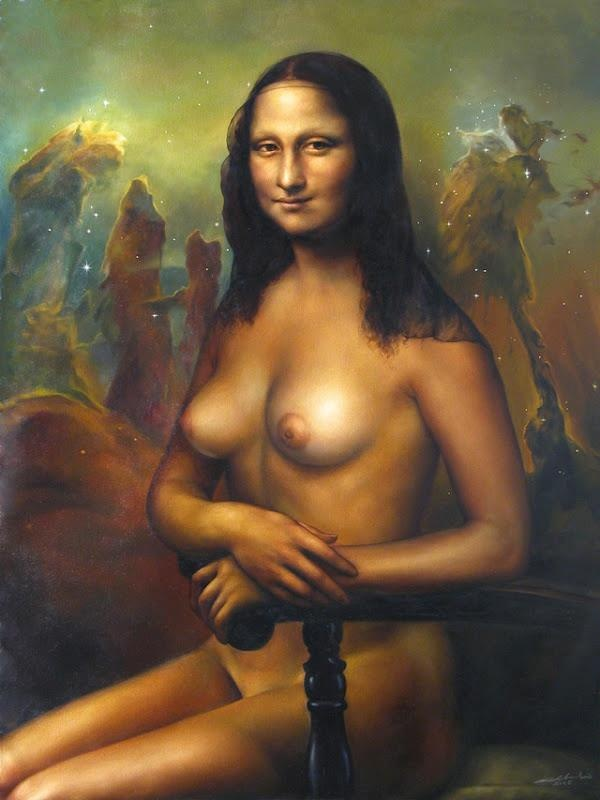 Mona Lisa Naked 100