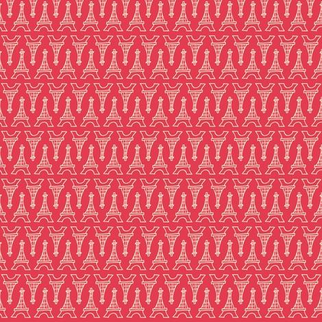 Souvenir Shop Pink fabric by heatherdutton on Spoonflower - custom fabric
