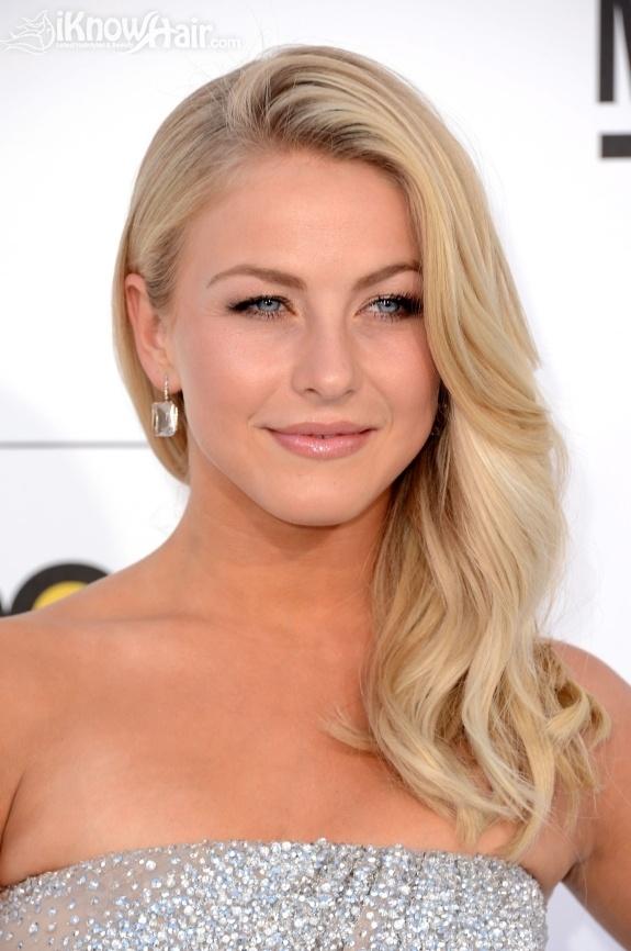 She has beautiful hair!