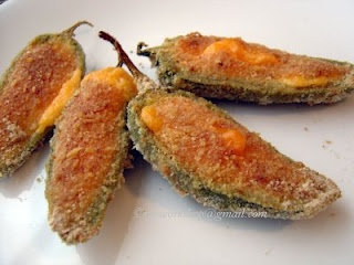 Stuffed jalapeno Peppers (Baked) | Marcia's Attic savory food | Pinte ...