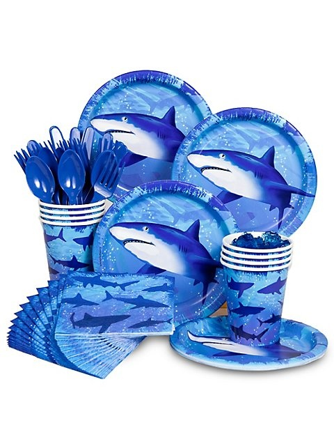 Shark Party Standard Kit -Shark Party Supplies