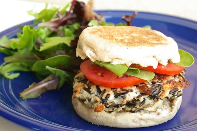 Paulas Plate: Wild Rice Bella Burgers | dejeuner | Pinterest
