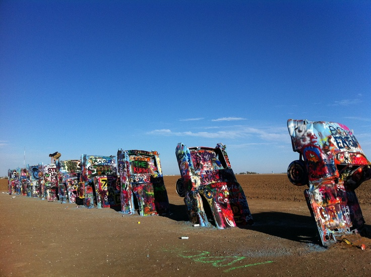 the cadillac ranch in amarillo texas places to go pinterest. Cars Review. Best American Auto & Cars Review