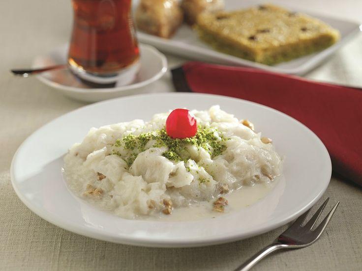 Beyaz Çikolatalı Güllaç Tarifi | Türkiye | Pinterest