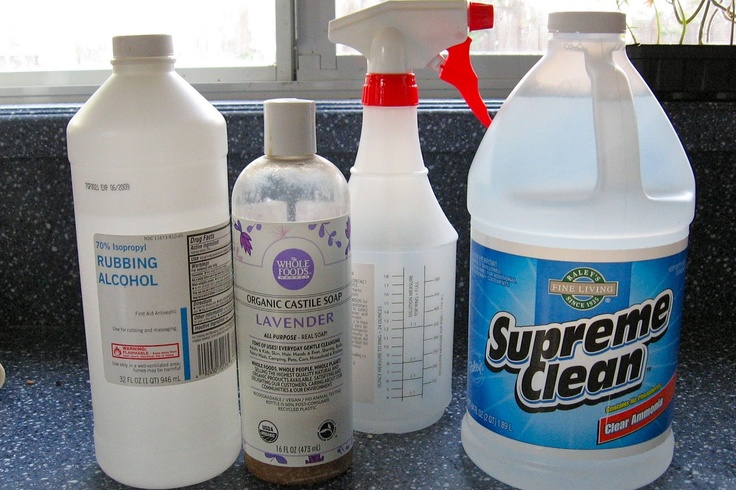 Make Glass Cleaner Just 3 Ingredients