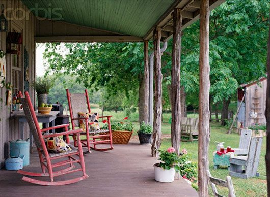 Country Style Backyard Ideas : Via Andy Herriott