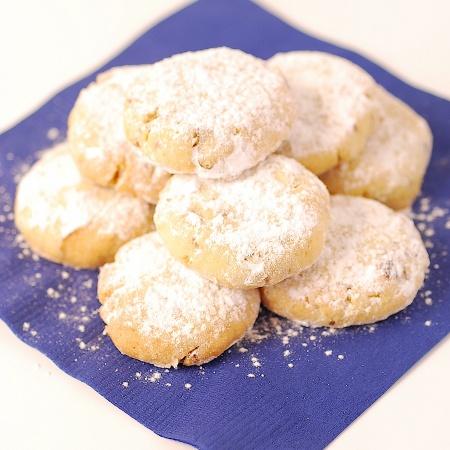 Almond & Orange Blossom Cookies | Sweet | Pinterest