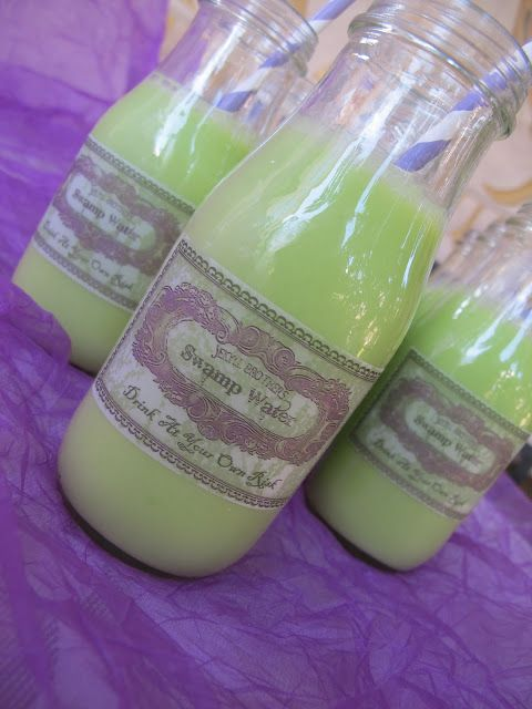 Purple Chocolat Home: Swamp Water Punch - Drink At Your Own Risk