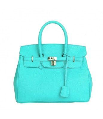 Tiffany blue handbag