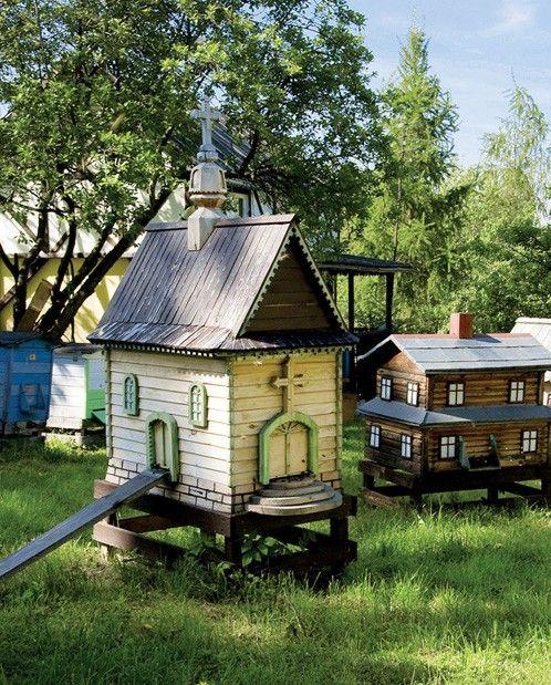 darling miniature houses - Friday Favorites - Living Vintage