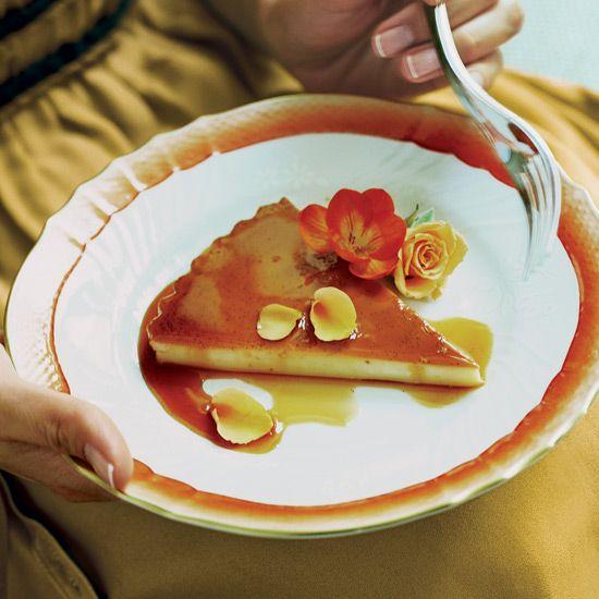 Vanilla-Orange Flan // Family Favorite Recipes: http://www.foodandwine ...
