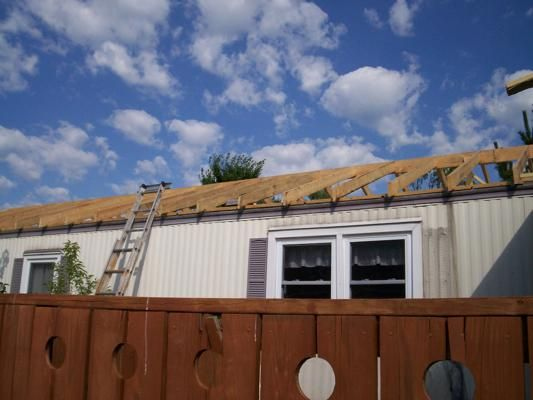 Mobile home exterior renovation remodel pinterest for Renovate outside of homes