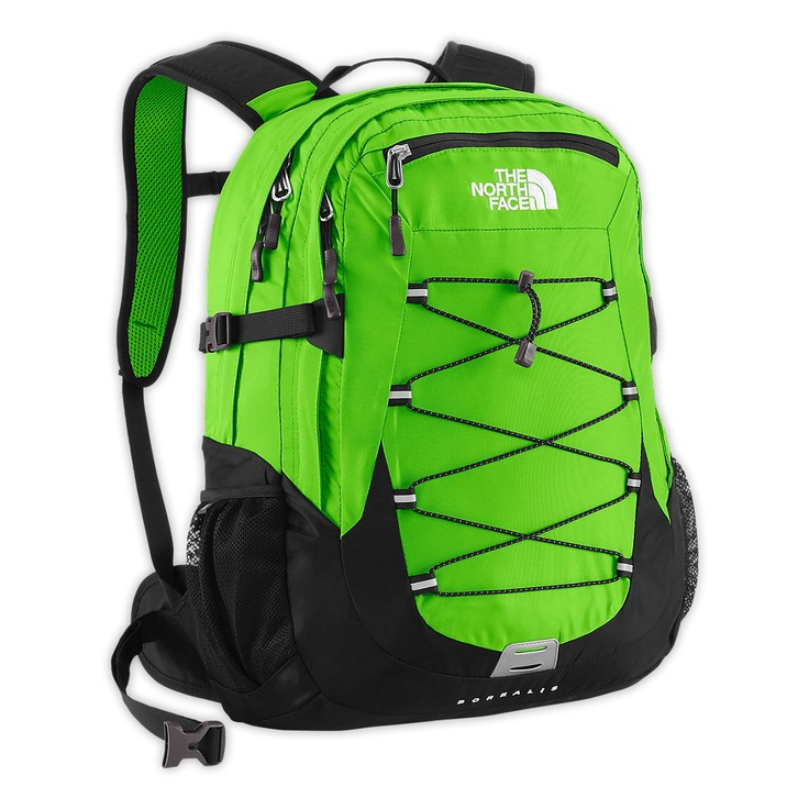 Maybe if I had something this bright, people wouldn't be so apt to run me over while I'm on my bicycle.    The North Face Equipment Daypacks BOREALIS BACKPACK