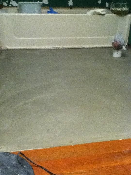 Install Bathroom Floor Underlayment : Pin by eliot wright on small space big ideas bathroom