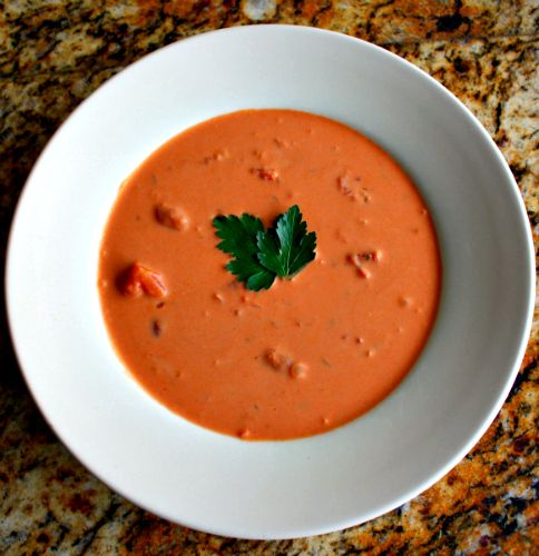 You say tomato, I say soup: Creamy Sherried Tomato Soup with Herbs