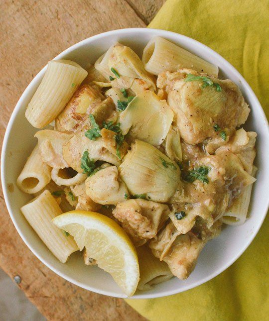 fashioned chicken fricasse with wine flavored cream sauce onions and ...