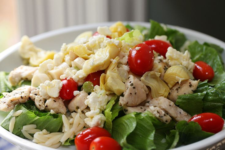 Greek Orzo and Chicken Salad | Recipe