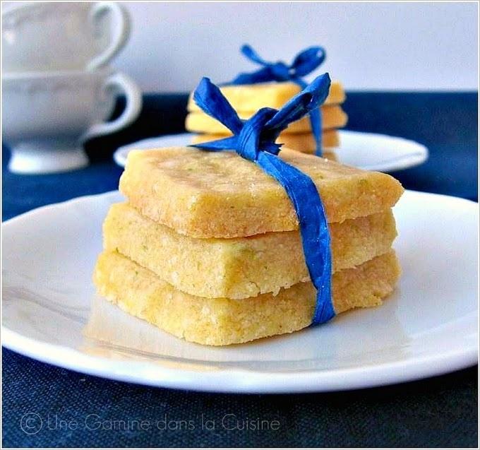 Cornmeal Shortbread Cookies | Recipes | Pinterest