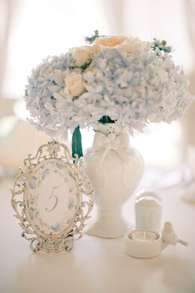 Matrimonio Azzurro Ortensia : The proposal ispirazione primaverile ortensie azzurro polvere