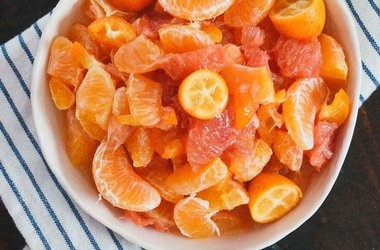 citrus salad with honey amp bitters dressing punchfork