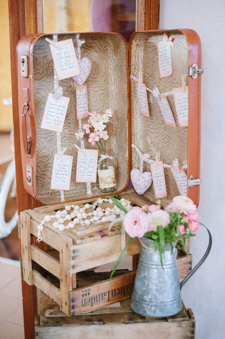 Plan de table (BDG Photography) - mariage vintage poétique ...