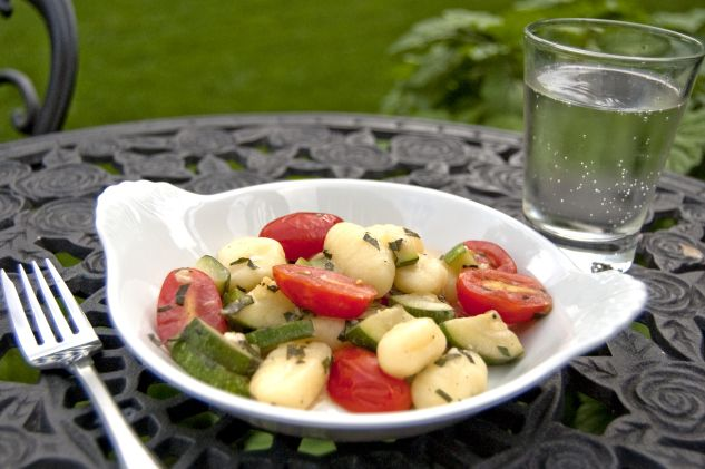 Gnocchi with Summer Vegetables | FOOD!! | Pinterest