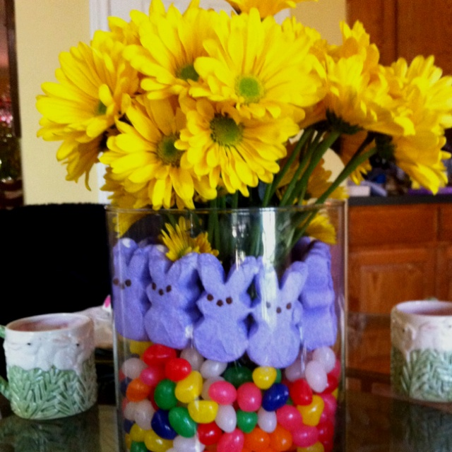 spring flowers easter negg