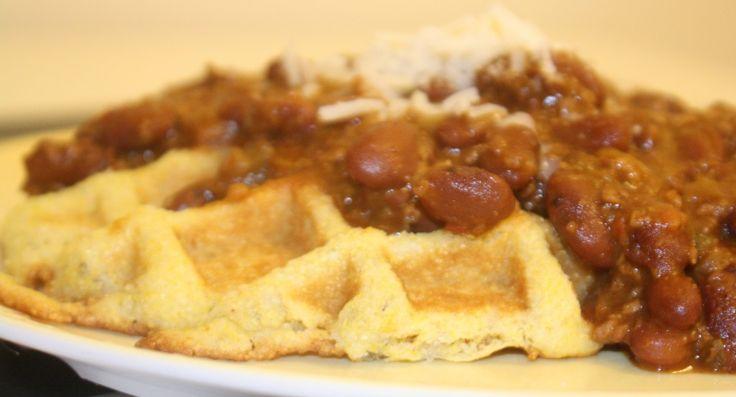 Vegetarian Chilli With Cornbread Topping Recipe — Dishmaps