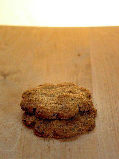Earl Grey Tea Cookies with the Earl Grey inside!