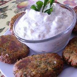 ... cucumber shake with cucumber granita sean s falafel and cucumber sauce