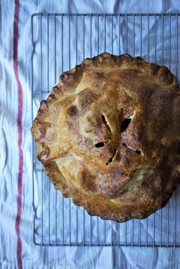 Mile-High Apple Pie | *famished* | Pinterest