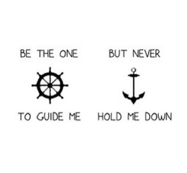 Beau Anchor Love Quote