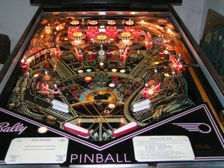 bally space invaders pinball machine