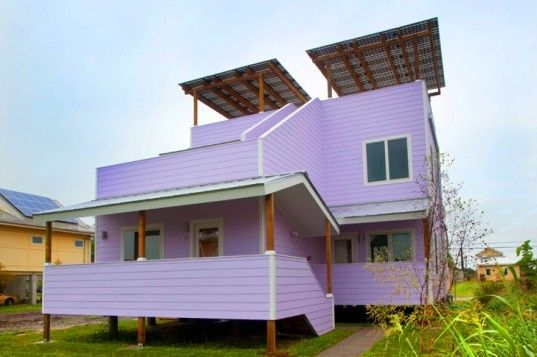 Brad Pitt Recruits Frank Gehry to Design Sustainable, Two-Family Home For Make It Right in New Orleans | Inhabitat - Sustainable Design Innovation, Eco Architecture, Green Building