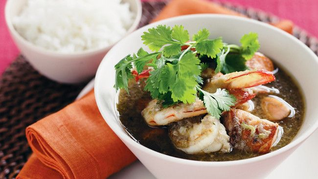 Thai seafood curry | Asian | Pinterest