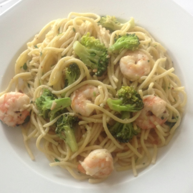 Roasted Broccoli And Shrimp Pasta This Is A Road I 39 D