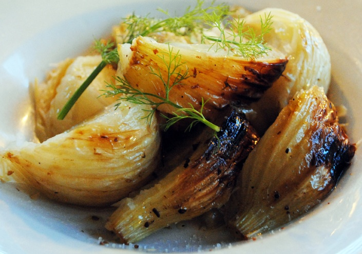 grilled trout with fennel grilled scallops with fennel recipes