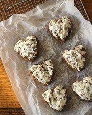 Honey Hazelnut Hearts good snack cookies