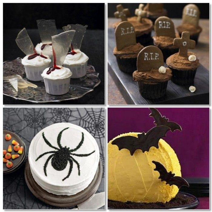 scary halloween desserts eyeballs
