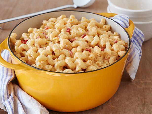 Pimiento Cheesy Mac Recipe : Rachael Ray : Food Network Pimientos are ...