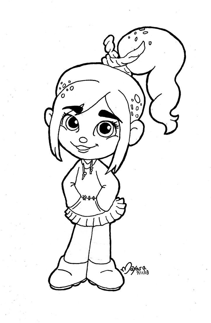 Vanellope Clipart Google Search Coloring Pages Pinterest Wreck It Ralph Vanellope Coloring Pages
