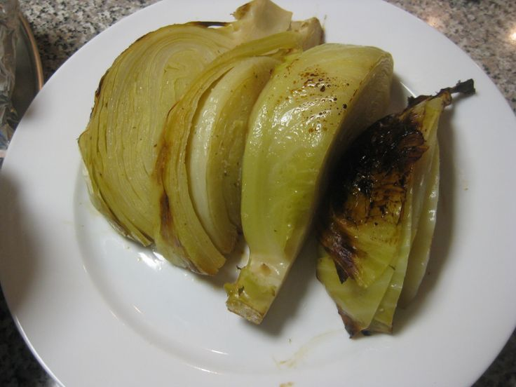 CABBAGE ON THE GRILL | Vegetables Recipes | Pinterest