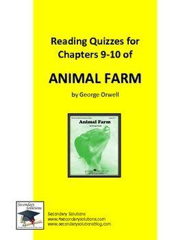 george orwell animal farm essay questions
