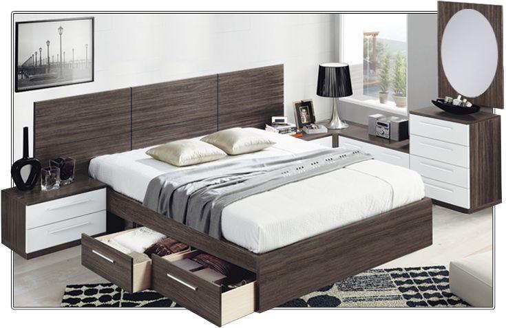 Muebles blanco ciudad quesada 20170803060841 for Dormitorios de matrimonio minimalistas